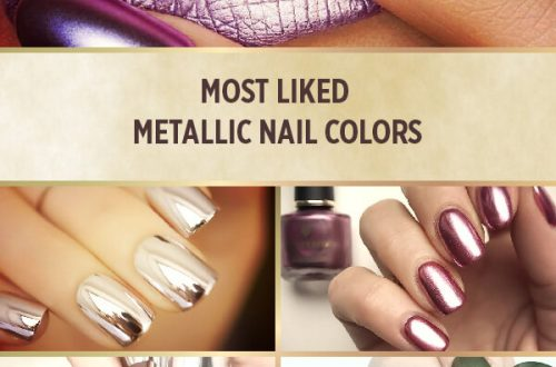 MOST Liked metallic nail colors with mirror effects designs trends